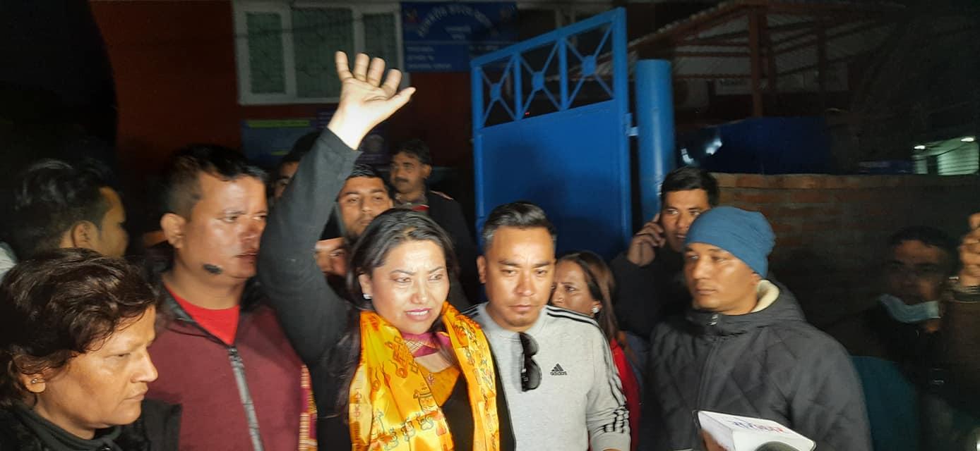 नेकपा नेतृ रामकुमारी झाँक्री रिहा