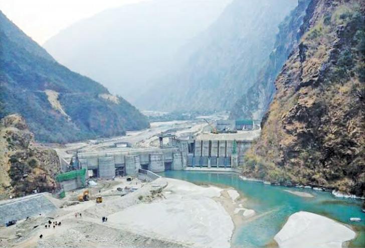 माथिल्लो तामाकोशी जलविद्युत आयोजनाले आगामी बैशाखदेखि उत्पादन शुरु गर्ने
