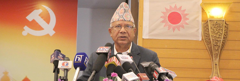 एमालेको नेपाल समूहको भेलाले देशभरका पार्टी कमिटी ब्युँताउने घोषणा