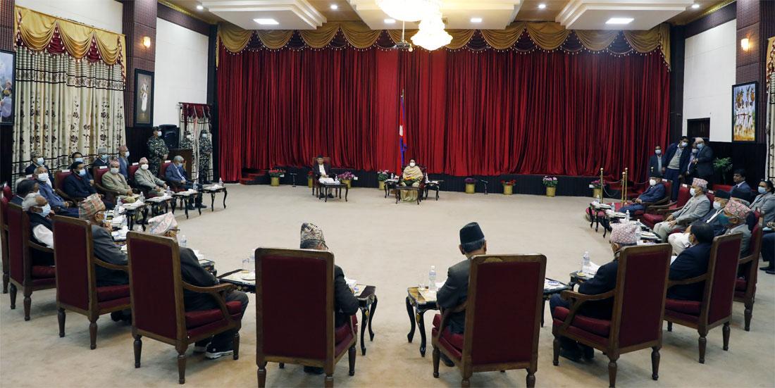 प्रधानमन्त्री ओलीले दिए फेरि संसद विघटन गर्ने चेतावनी