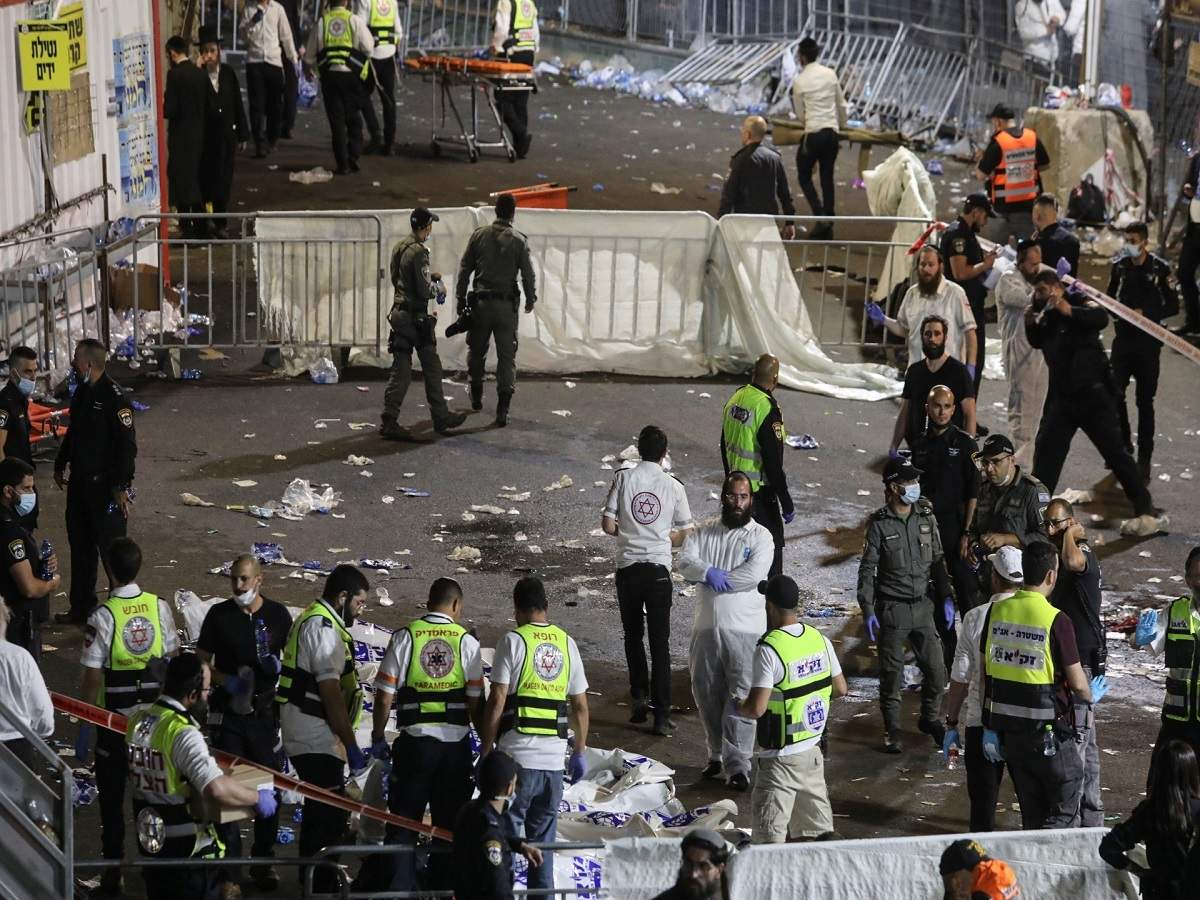 इजरायलमा धार्मिक कार्यक्रममा भागदौड मच्चिँदा दर्जनौंको मृत्यु