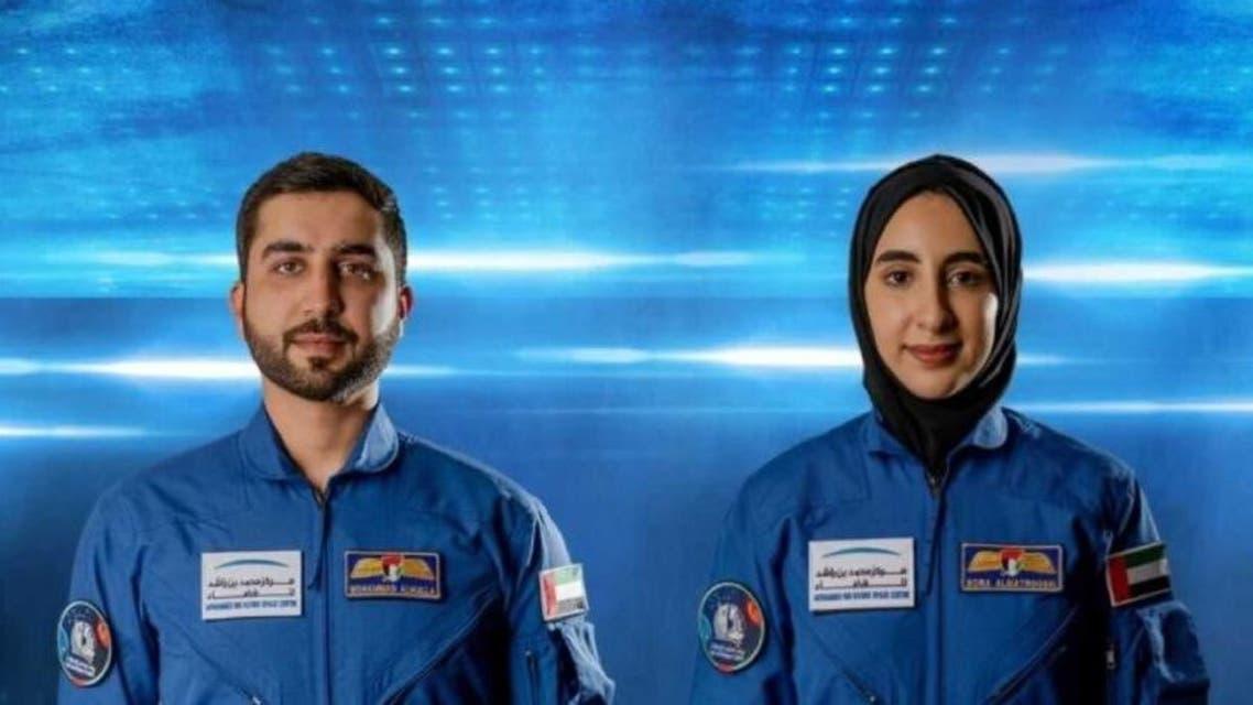 संयुक्त अरब इमिरेट्सद्दारा  दुई जना अन्तरिक्ष यात्रीको नाम  घोषणा