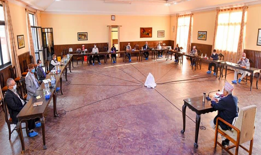 मन्त्रीमण्डल पुर्नगठन हुदै, एमालेका ४ बाहेक सबै मन्त्री बाहिरिदै, राजपाको प्रबेश