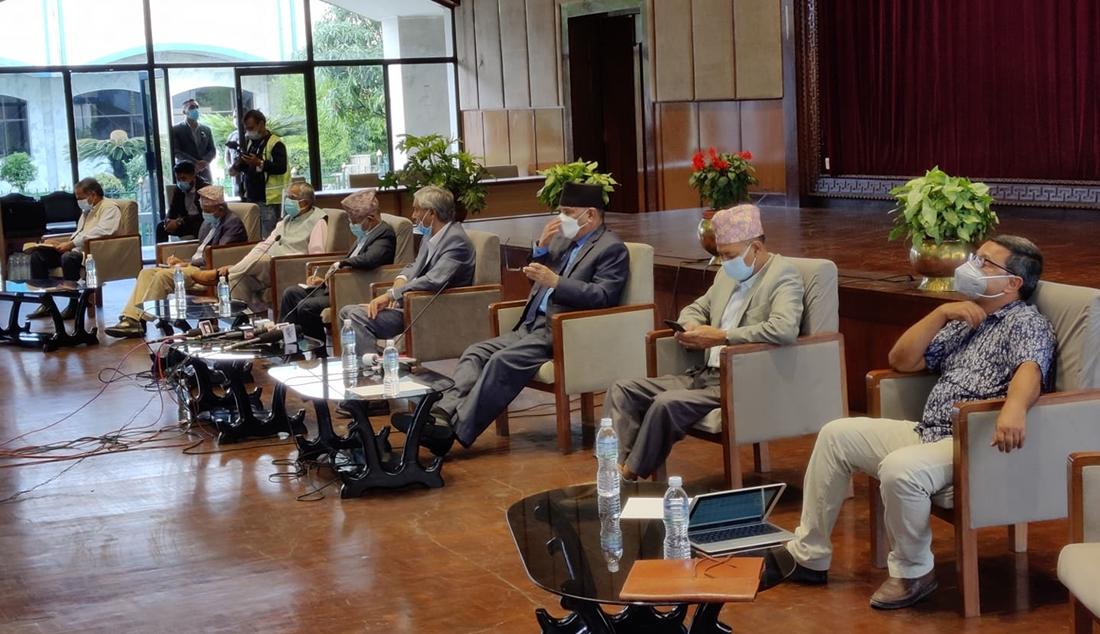 बिपक्षी गठबनधनले गरे राष्ट्रपति भण्डारी र प्रधानमन्त्री ओलीको आलोचना