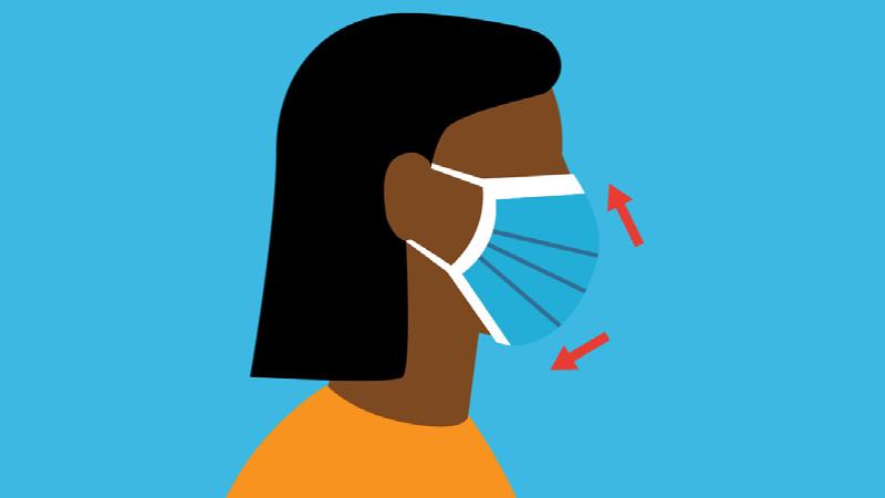 साधारण सर्जिकल मास्क लगाउनेमा  भाइरस सङ्क्रमण हुने जोखिम उच्च