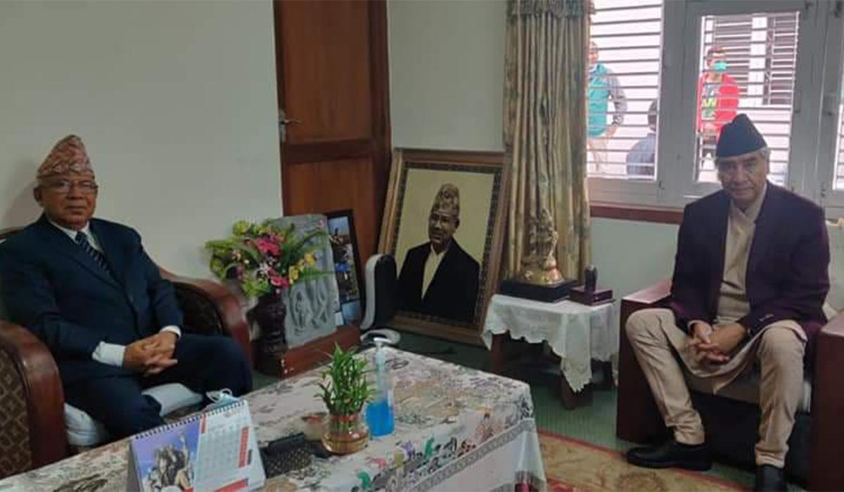 किन पुगे  प्रधानमन्त्री देउवा नेपाल  निवास ?