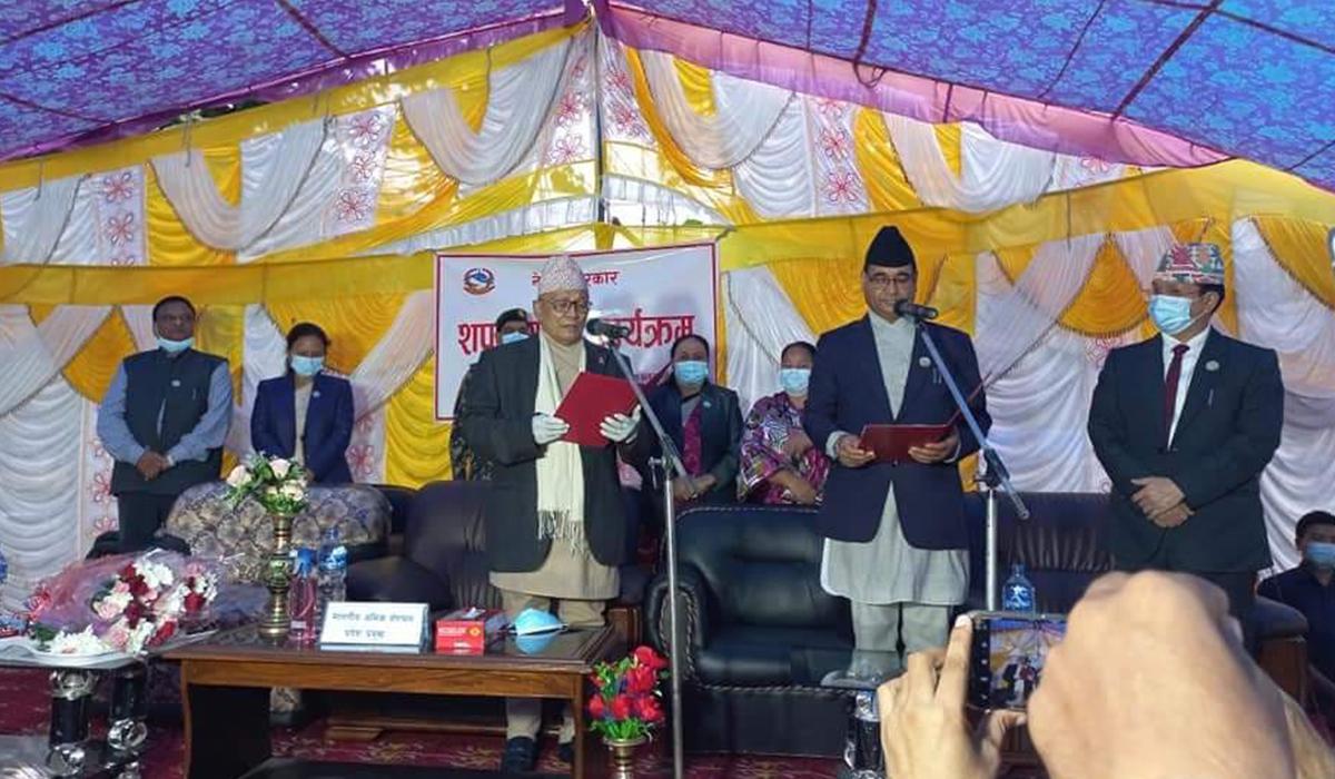 कुलप्रसाद केसी बने लुम्बिनी प्रदेशको मुख्यमन्त्री, मुख्यमन्त्री केसीले गरे सात सदस्यीय मन्त्रिपरिषद् गठन