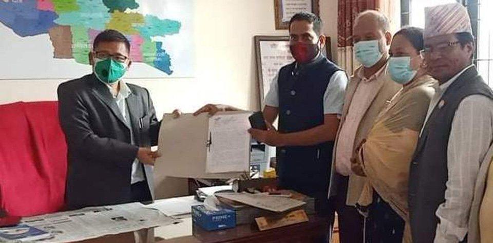लुम्बिनी प्रदेशका मुख्यमन्त्री शङ्कर पोखरेलविरुद्ध अविश्वासको प्रस्ताव दर्ता
