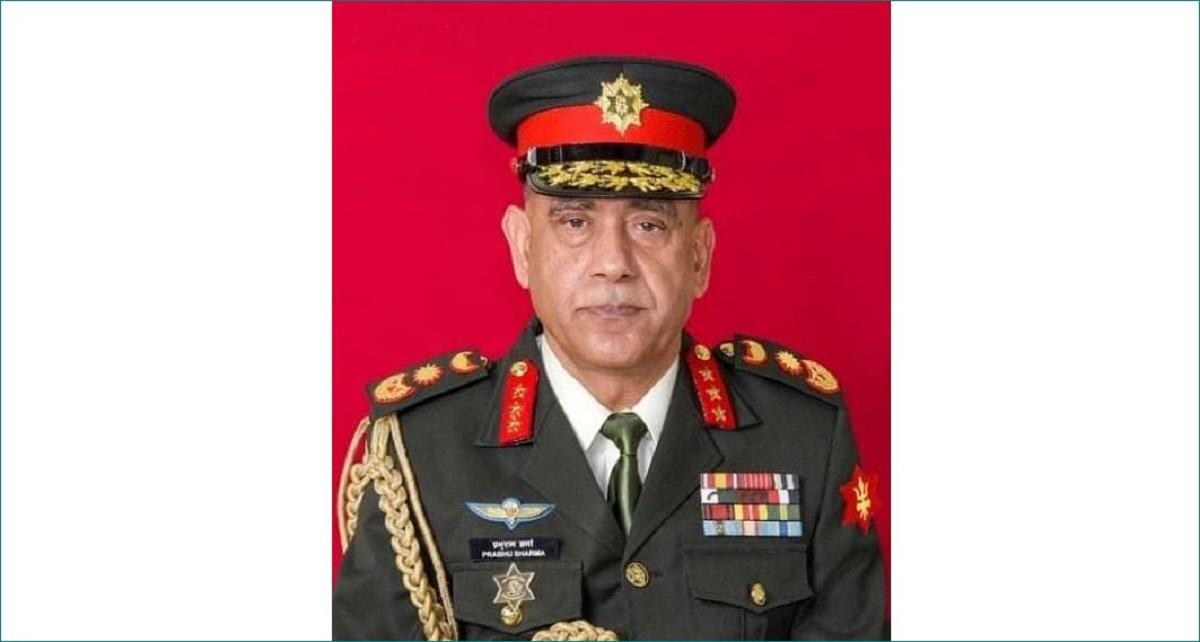 प्रभुराम शर्मा बने नयाँ प्रधान सेनापति