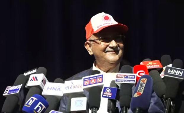 एमाले अध्यक्ष ओलीले भने – माधव नेपाल एमालेमा आवश्यक छैन