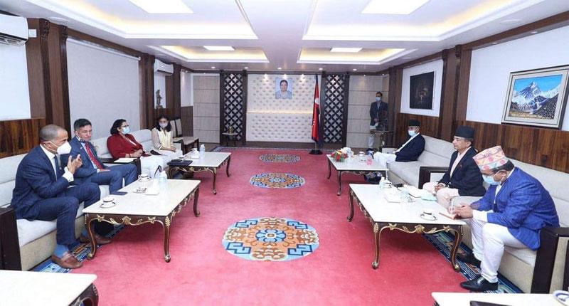 नेपाल आएकी एमसीसीकी उपाध्यक्ष फातिमा सुमारले  सकिन महत्वपुर्ण भेटघाट , अब के  होला एमसीसी ?