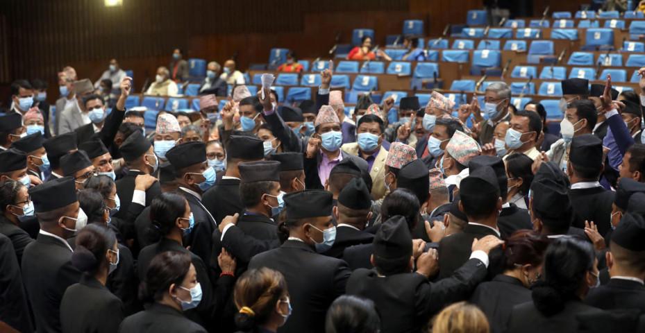 प्रतिनिधीसभामा गरिएको बिरोधको शैली संसदीय मुल्य मान्यता अन्तर्गत रहेको एमालेको निष्कर्ष