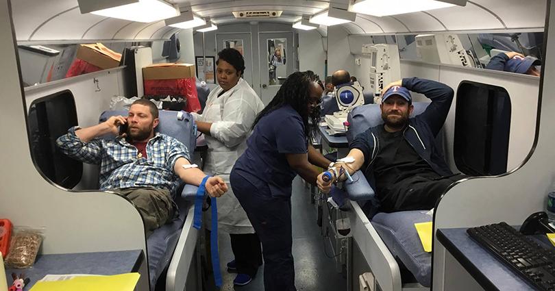 टेक्ससमा अन्तर्राष्ट्रिय रक्तदान कार्यक्रम सम्पन्न