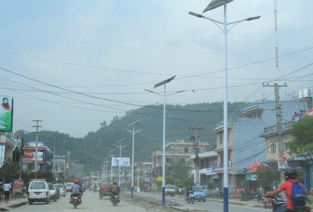 तिब्बतको सोलारले पोखरा झिलिमिली