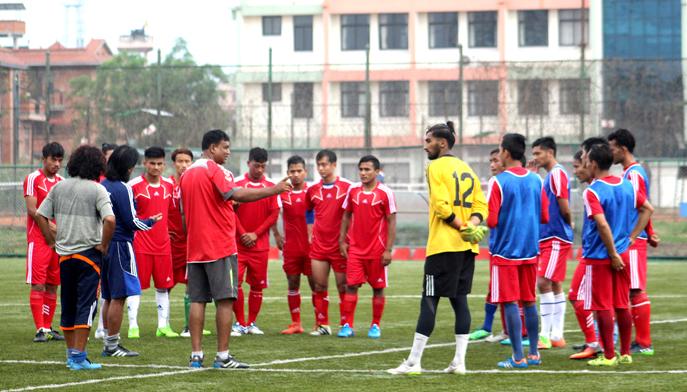 विमल घर्तीमगरको कप्तानमा बंगलादेशसँगको मैत्रीपूर्ण खेलका लागि नेपाली टोली घोषणा