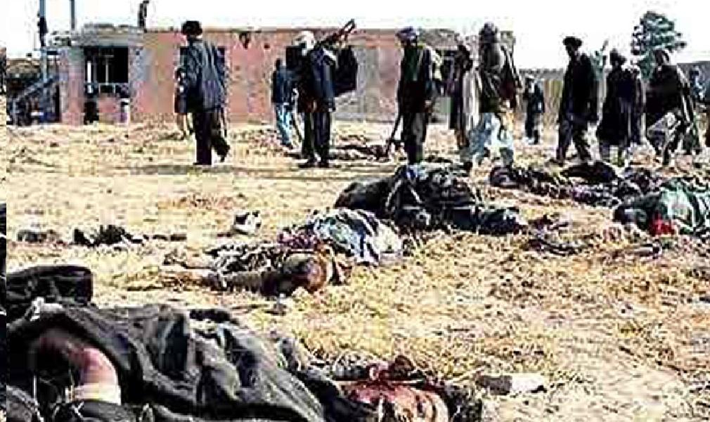 १०१ जना तालिवान विद्रोहीको मृत्यु