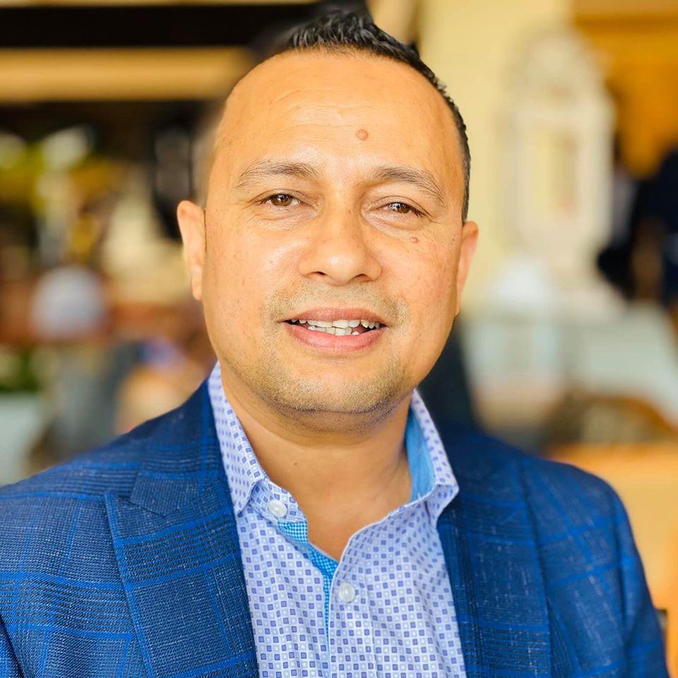 आरसी त्रिपाठीद्वारा अमेरिकाज क्षेत्रका नेपालीका सहयोगका लागि आईसिसीसंग २५ हजार डलर सहयोग अनुरोध