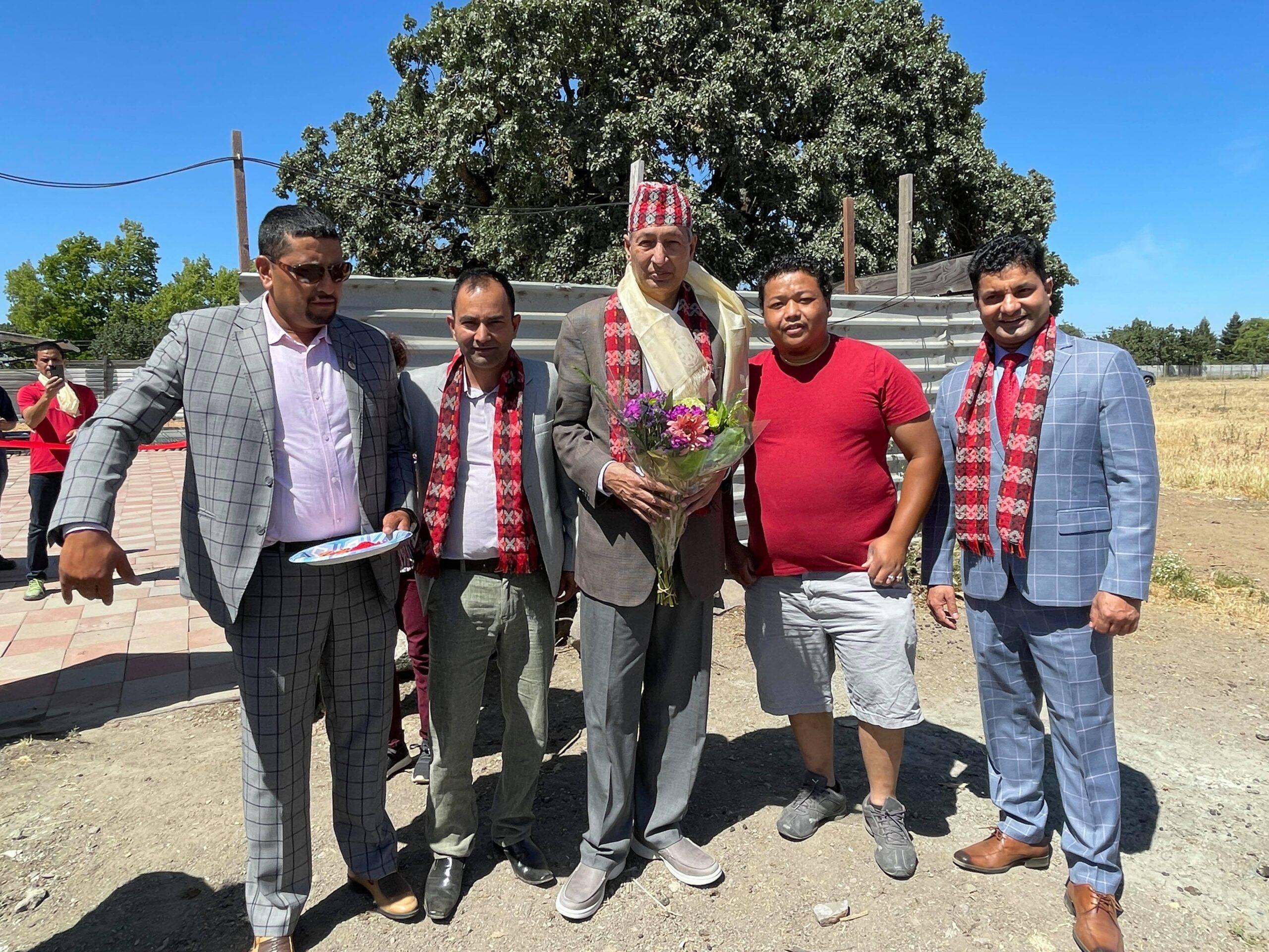 राजदुत खतिवडाद्वारा सानफ्रान्सिस्कोमा नेपाली कृषि फर्मको उद्घाटन