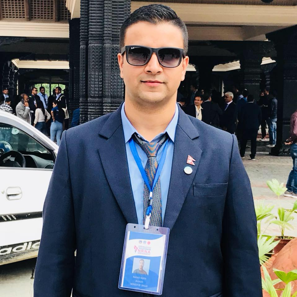 युवा उद्यमी रमेश काफ्लेले गरे एनआरएनए युरोप क्षेत्रीय युवा संयोजकमा उम्मेदवारी घोषणा