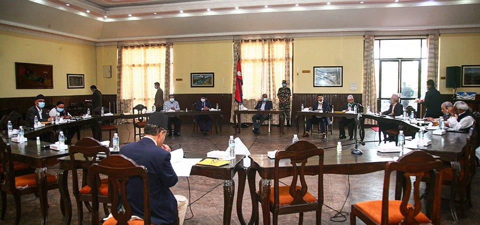 मन्त्रीमण्डल बिस्तारमा सत्तारुढ दलको  सहयोग नभएको  भन्दै प्रधानमन्त्री देउवा असन्तुष्ट , सर्बदलिय बैठकमा एमाले  आएन